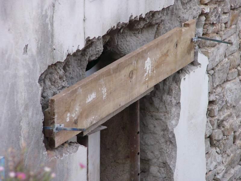 ouvrir/refaire des fenêtres dans mur en pierres.